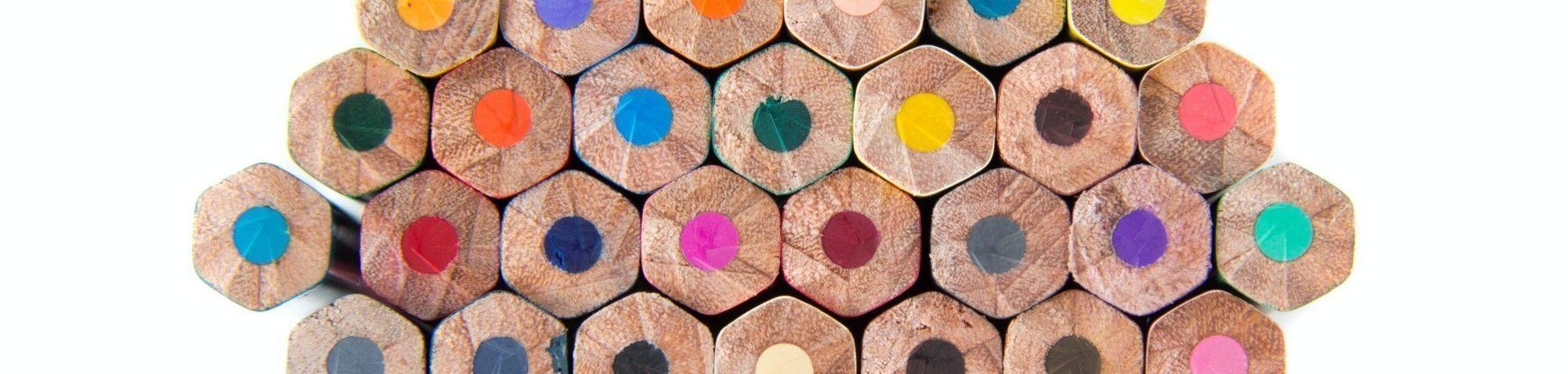 Seturi cu creioane colorate