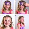Sablon body painting - Princess