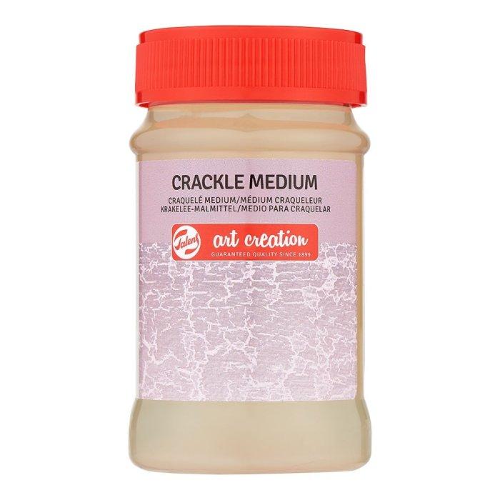 Crackle Medium Art Creation