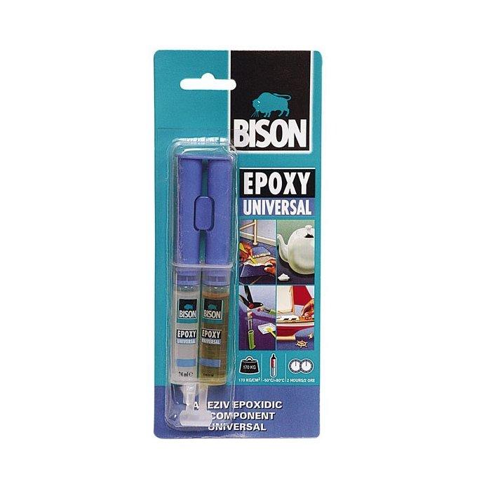 Adeziv bicomponent Bison Epoxy Universal