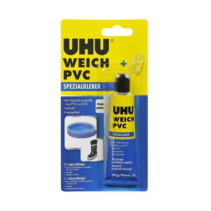 Adeziv PVC Flexibil UHU - 30 gr.