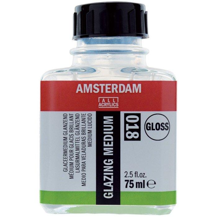 Amsterdam Glazing Medium Glossy 018
