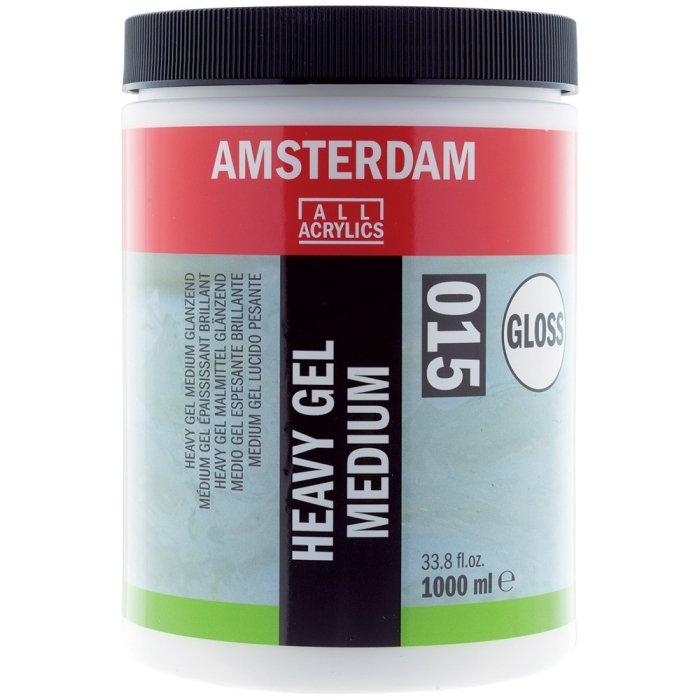 Amsterdam Heavy Gel Medium Glossy 015