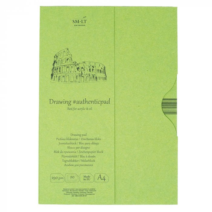 Drawing pads Authentic Acrylic in folder 20x290gr A4