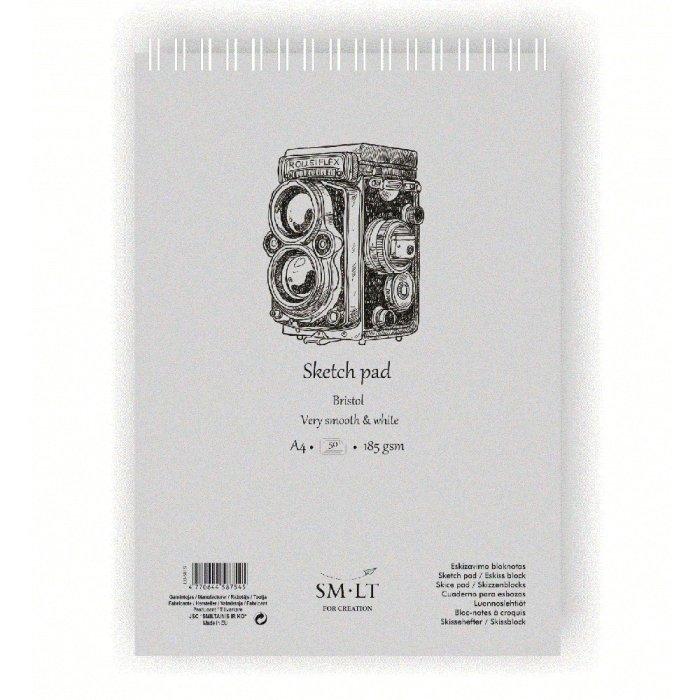 Bloc desen Sketch pads Authentic Bristol 185gr