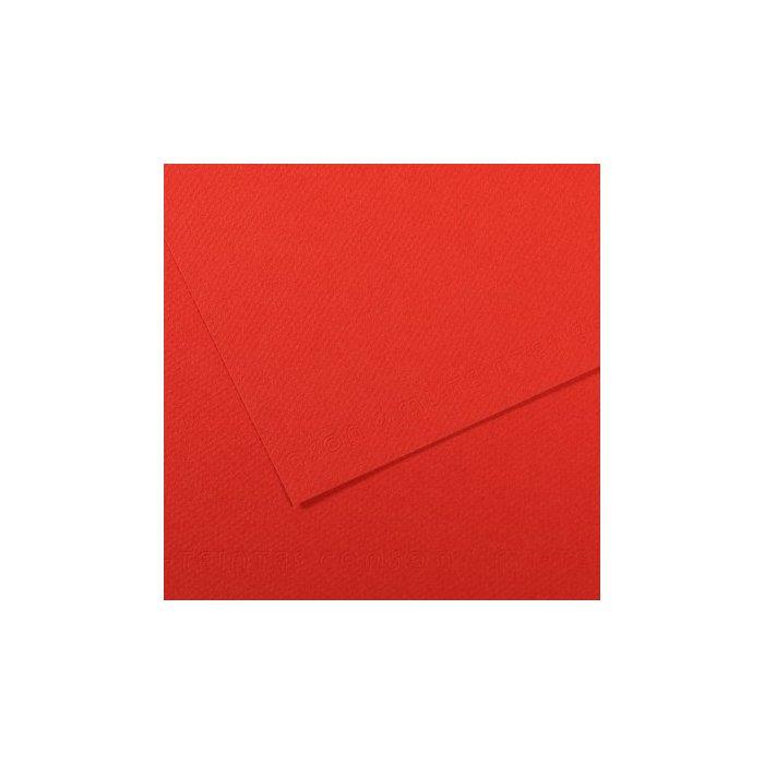 Carton colorat Canson Mi Teintes A4 - poppy red