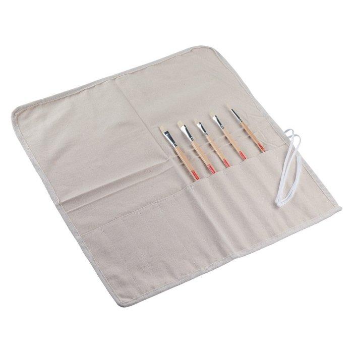 Etui textil pentru pensule Art Creation