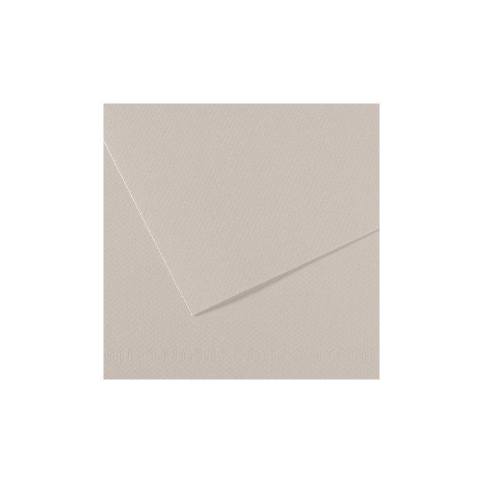 Carton colorat Canson Mi Teintes A4 - pearl grey