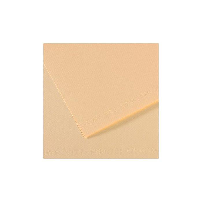 Carton colorat Canson Mi Teintes A4 - ivory