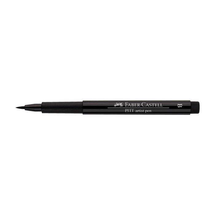 Liner pensula Pitt Artist - negru