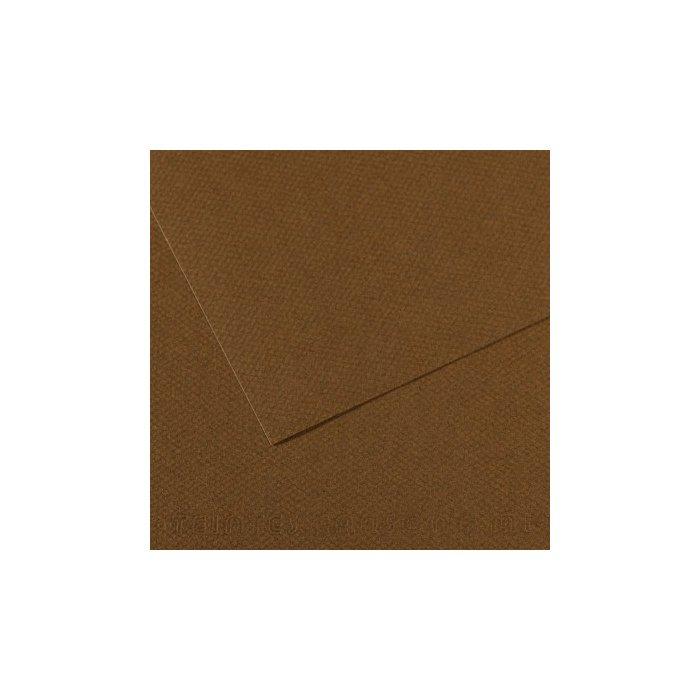 Carton colorat Canson Mi Teintes A4 - tobacco