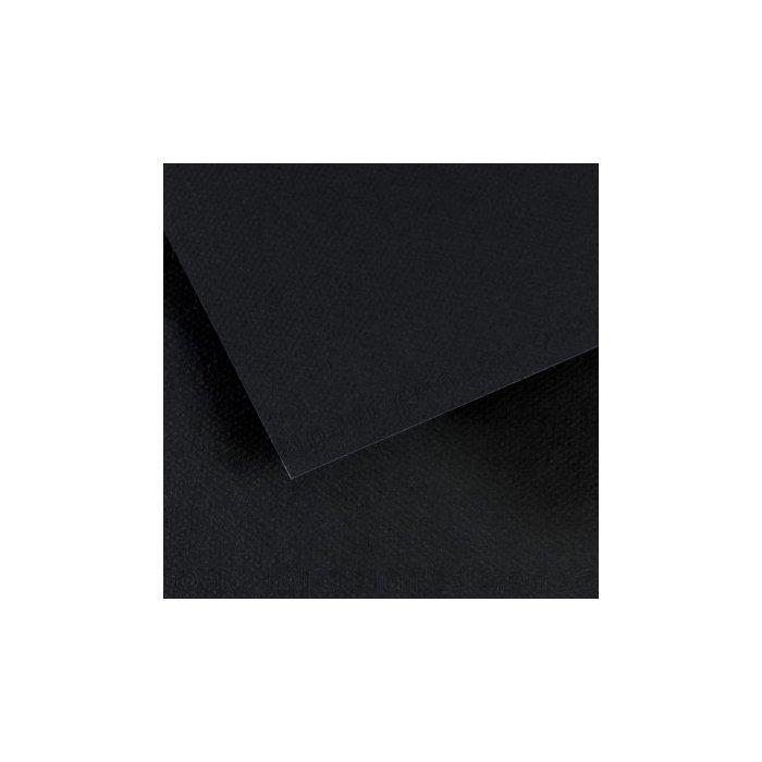Carton colorat Canson Mi Teintes A4 - black