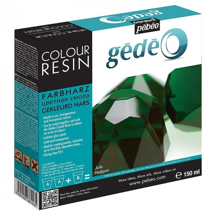 Rasina colorata Gedeo - Jade 150 ml.