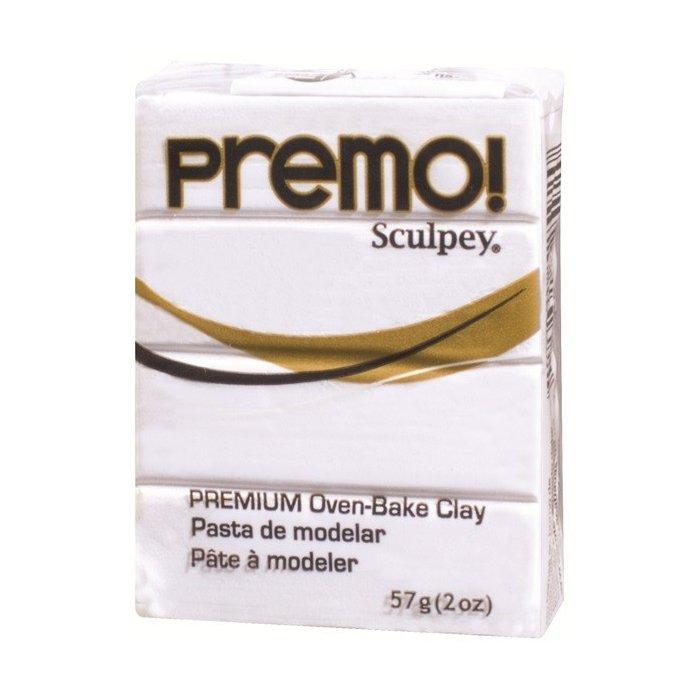 Pasta polimerica Sculpey Premo - White