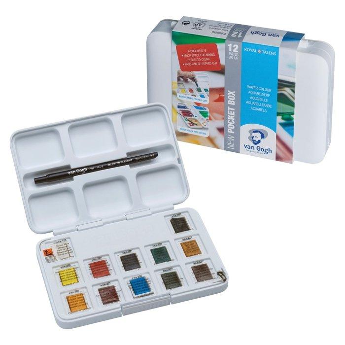Set acuarele Van Gogh Pocket Box 8631