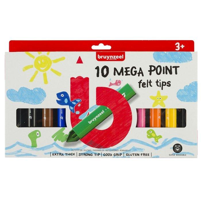 Set carioci Felt Tips Megapoint 10