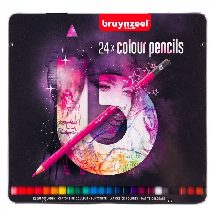 Set creioane colorate Colour Pencils Light 24