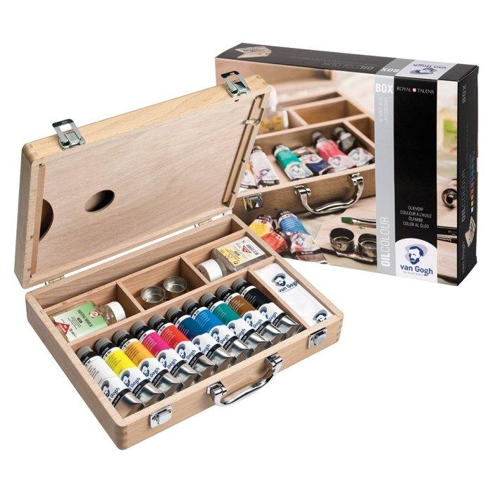 Set culori ulei Van Gogh Basic Box