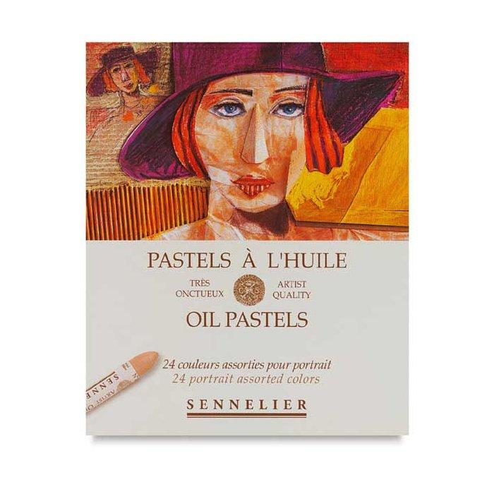 Set pastel gras Sennelier Portrait 24 - capac