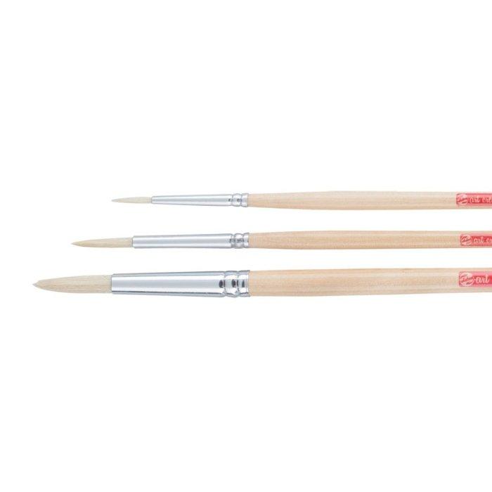 Set pensule sintetice Art Creation 211