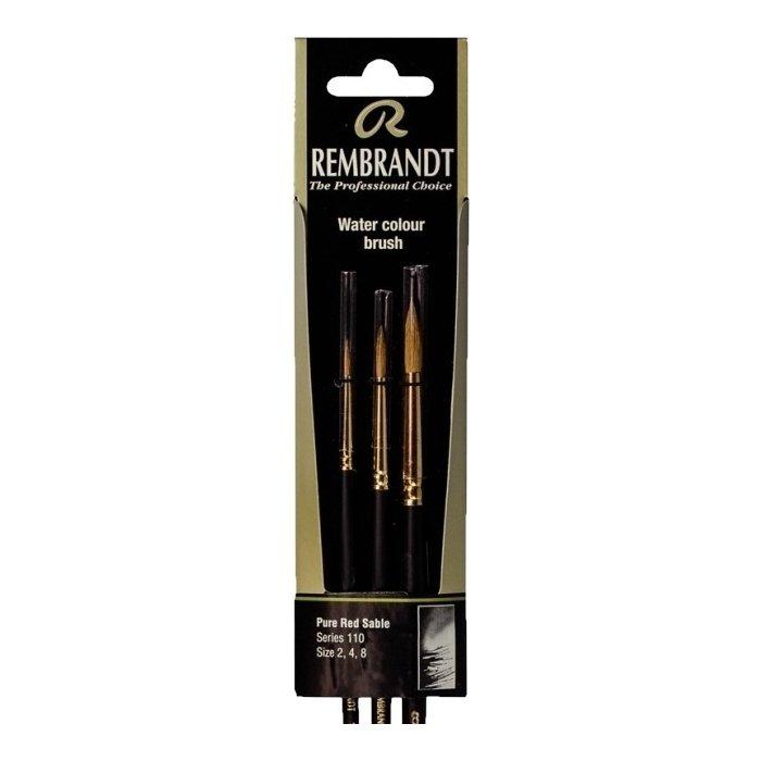 Set pensule Rembrandt 110 (2-4-8)