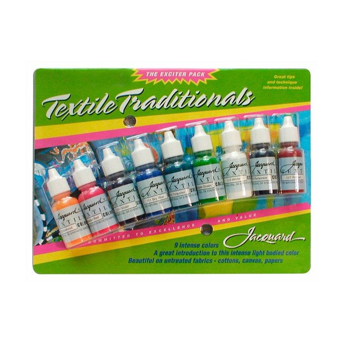 Set culori Jacquard Traditionals Exciter Pack