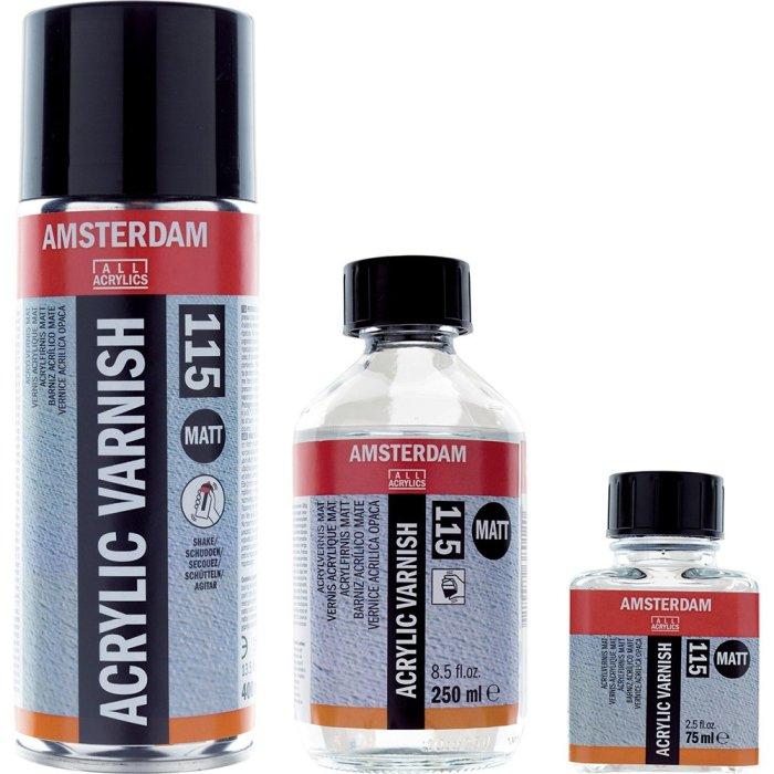 Vernis acrilic Amsterdam Matt 115