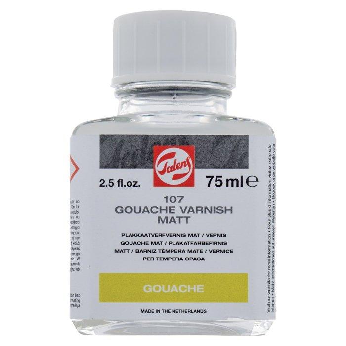 Vernis mat pt guase si tempera Talens 107 - 75 ml