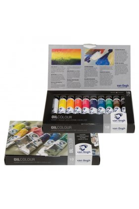 Set culori ulei Van Gogh Oil Basic Set