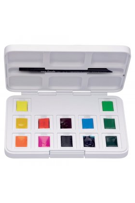 Set acuarele Van Gogh Pocket Box Vibrant Colours