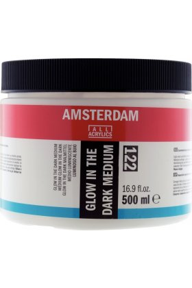 Mediu acrilic Amsterdam Glow In the Dark 122 500 ml