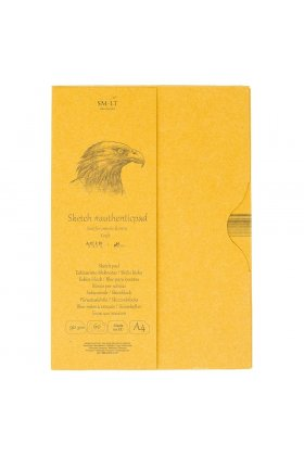 Bloc desen Sketch pad Authentic Kraft in folder 60x90gr A4