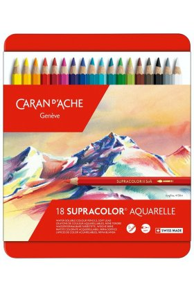 Set creioane colorate Supracolor Soft Aquarelle 18