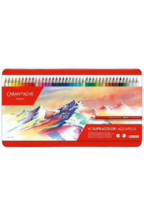 Set creioane colorate Supracolor Soft Aquarelle 40