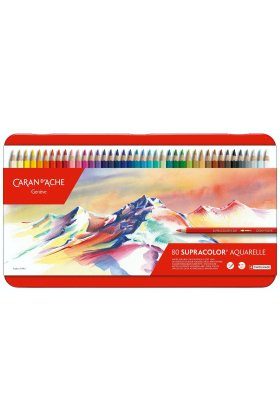 Set creioane colorate Supracolor Soft Aquarelle 80