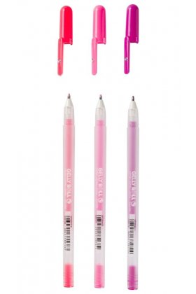 Set 3 pixuri colorate Gelly Moonlight - Sweets