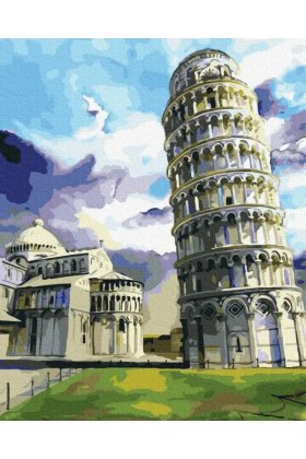 Pictura pe numere Leaning Tower of Pisa