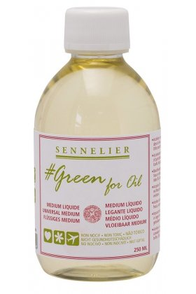 Medium Liquid Sennelier Green for Oil