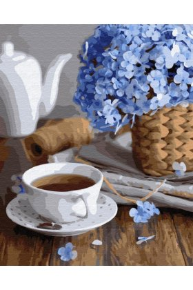 Pictura pe numere - A cup of Spring
