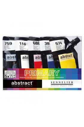 Set 5 culori acrilice Abstract 120ml