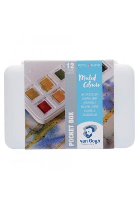 Set acuarele Van Gogh Pocket Box Muted Colours