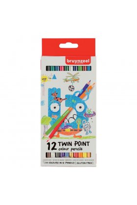 Set creioane colorate Twin Point 12