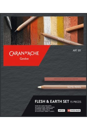 Set de desen Caran d'Ache Flesh & Earth 15