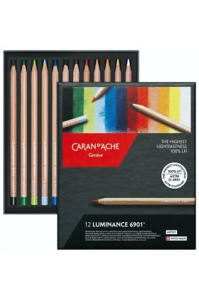 Set creioane colorate Luminance 12