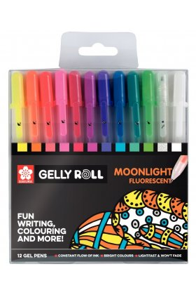 Set pixuri colorate Gelly Moonlight Set 12
