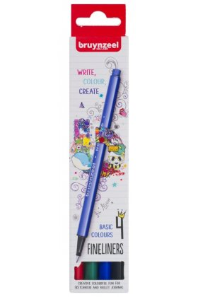 Set Bruynzeel Fineliner 4