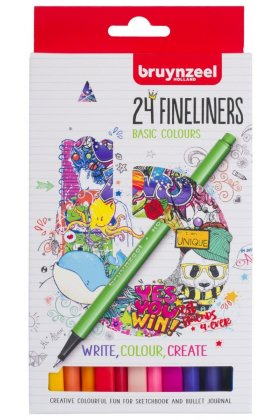 Set Bruynzeel Fineliner 24