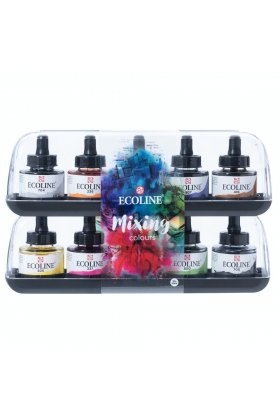 Talens Ecoline Mixing Set 10 x 30 ml