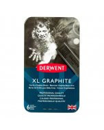 Set 6 blocuri din grafit colorat Derwent XL