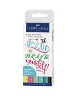Set India Pitt Artist Pen Lettering Pastel 6